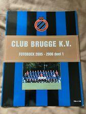 Club Brugge KV Full Squad Signed Autographs Photo Book Belgium Ceulemans