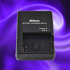 MH-24 Charger for Nikon EN-EL14 And 14A Battery P7000 DSLR D5100 & MORE
