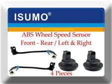 4 ABS Wheel Speed Sensor Front Rear L & R Fits:Cadillac Deville 00-05 DTS 06-11