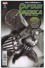 Steve Rogers CAPTAIN AMERICA #2 - Black & White Variant - SDCC 2016  Rare MARVEL