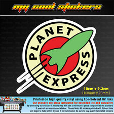 Planet Express 10cm Vinyl Sticker Decal, 4X4 Ute Car JDM Futurama Drift