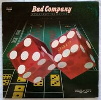 "BAD COMPANY-1975-12""LP⚠️Top Vinyl - Straight Shooter-30904  First Press Israel"