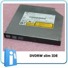 Grabador DVDRW IDE Slim con frontal plano Negro - Grabadora DVD para portatil
