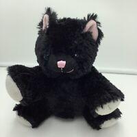 "The Bear Mill Black Cat Plush Soft Toy Stuffed Animal 8"""