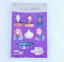 Star Trek Stickers 1992 Next Generation Hallmark Paramount Pictures