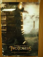 """The Lord of the Rings """"The Two Towers"""" In Store Promo Poster 13.5""""x 20"""""""