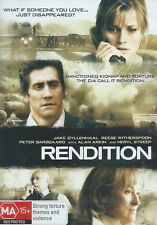 Rendition - Thriller / Strong Torture / Violence - Jake Gyllenhaal - NEW DVD