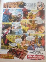 L2-6 Ephemera 1984 Advert Waddingtons Diamond Hunt