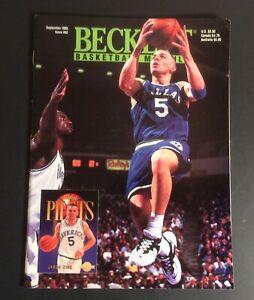 Beckett Basketball Card Monthly September 1995 #62 Jason Kidd Cover