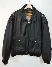 Giubbino Pelle usa air force aviazion top gun vintage 80' jacket aviator Air For