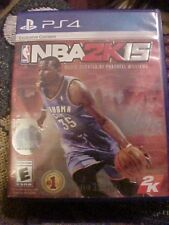 NBA 2K15 (Sony PlayStation 4, 2014) Book, Blue Ray Disc, Codes, Case EUC