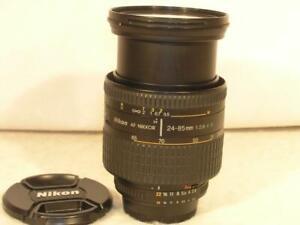 Nikon AF Nikkor 24-85mm F2.8-4 D (IF) Macro (1:2) Lens
