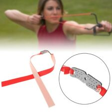 Powerful Elastic Bungee Flat Rubber Band Resilient Tube For Hunting Slingshot