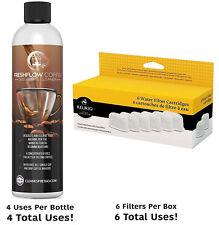 6 Original Keurig Filter & 4 use Supply Machine Descaler Cleaner Descaling oem
