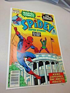 SPIDEY SUPER STORIES #30, (1978) Kang Cover Marvel Comics SPIDER-MAN Rare