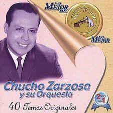 Lo Mejor de lo Mejor by Chucho Sarzosa (CD, Jun-2001, 2 Discs, Sony BMG)