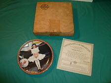 Norman Rockwells 'Sitting Pretty' Collectors Plate By Knowles China