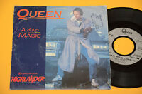 "QUEEN 7"" 45 A KIND OF MAGIC 1°ST ORIG FRANCIA 1986"