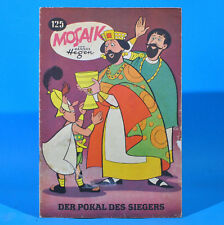 Mosaik 125 Digedags Hannes Hegen Originalheft DDR Sammlung original MZ 10