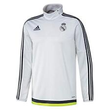adidas Real Madrid Players 2015 - 2016 Adult Training Zip Tops - S -