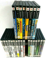 PS2 Game Lot of 25 Assorted Games Jewel Cases - Disc's & Manuals