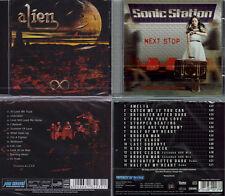 2 CD, Alien-Eternity (2014) + sonic station-Next stop +4 (2016) lionville
