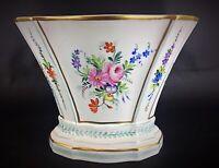 Rare ancien XIXe vase porcelaine Comte de Provence style Louis XVI Directoire