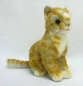 Hansa Ginger Kitten Cat Stuffed Plush Realistic