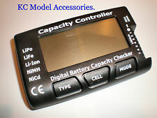 Lipo Capacity Battery Digital Checker Voltage and Cell NiMH NiCd Li-ion Cells UK