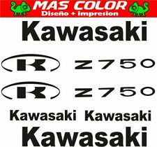 Pegatina Kawasaki logo vintage 3x23 CM sticker KUM 156102