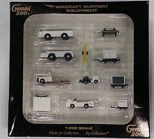 Gemini Jets 1/200 Airport Service Vehicles 11 pieces GSE miniature set