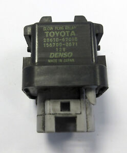 Genuine MINI Toyota Glow Plug Relay for R50 1.4 One D (W17 / 1ND Diesel) 7791346