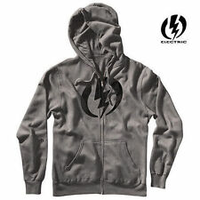 Electric Cursive Pullover Hoody Charcoal EA4131102 S