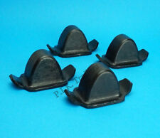 4 x Parabolic Leaf Spring Rubber Bump Stops - Ifor Williams Trailer & Horse Box