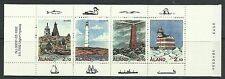 ALAND. 1992. Lighhouses Booklet Complete. SG: 56a. Fine Used CTO.
