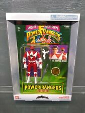 Mighty Morphin Power Rangers Legacy Collection Auto Morphin Flip Head Red Ranger