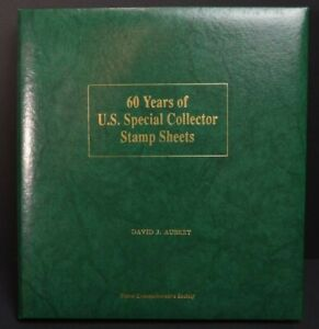 60 Years of U.S. Special Collector Stamp Sheets - 28 Stamp Sheets (Listed Below)
