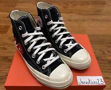 Converse Comme Des Garcons (Black) Size 3