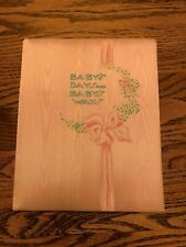Vintage C.R. Gibson & Co. Baby's Days & Baby's Ways Memory Book,40's,New in Box