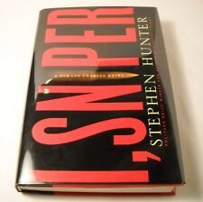 I, Sniper - SIGNED by Stephen Hunter - 1st Edition / 1st Printing (B93)