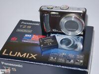 Panasonic Lumix TZ5 (braun) Leica lens Objektiv 10x optischer Zoom 28mm Wide
