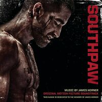 SOUTHPAW SOUNDTRACK - MUSIC BY JAMES HORNER: CD ALBUM (July 24th 2015)