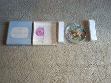 ALICE IN WONDERLAND plate W/COA BOX WHITTAKER #-1093 CHESHIRE CAT'S GRIN - 1980