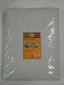 Coconut Coir Coco Peat Organic Soil Media Hydroponics Substrate Compost 10 Litre