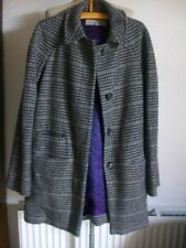 Houndstooth Wool Outdoor Coats & Jackets for Women