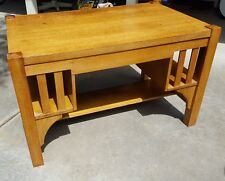 Mission/Arts and Crafts Desk American Oak