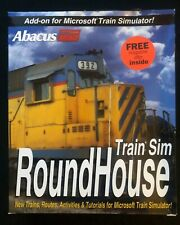 Abacus Roundhouse (PC, 2001) Add-on for Microsoft Train Simulator Software