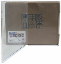USDISC Storage Stamp Cases Standard, Style #2, 14mm Clear Mount (Clear)