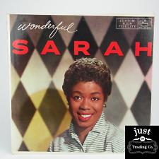 Sarah Vaughan – Wonderful Sarah 1957 Original lp MG-20219 - Jazz -  NM/EX