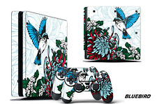 Skin Decal Wrap For PS4 Slim Playstation 4 SLIM Console + Controller Stickers BB